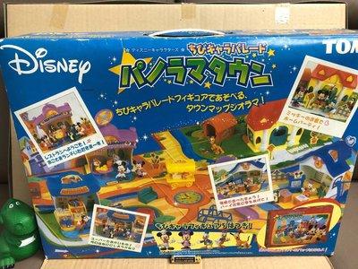 全新 Tomy 絕版 迪士尼  米奇老鼠 大家庭 歡樂棋