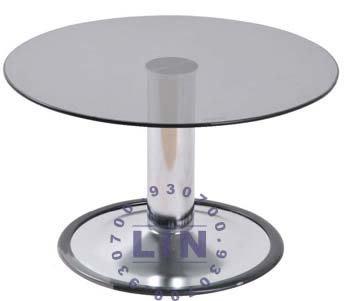 【品特優家具倉儲】421-09和室桌713電鍍玻璃和室桌2尺