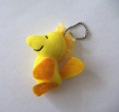陽光一品~ 史努比--小黃鳥娃娃珠鍊吊飾-1