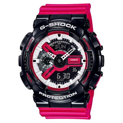 CASIO G-SHOCK GA-110 series GA-110RB-1A 黑 x 紅 x 白 GSHOCK GA110RB