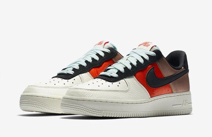 南◇2019 11月 Nike AIR FORCE 白色 Ct3429-900 紅色 玫瑰金色 AF1 女鞋