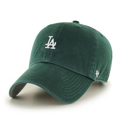 【血拼妞】《現貨》47 BRAND LA DODGERS BASE RUNNER 小 LOGO 洛杉磯道奇 老帽 綠色