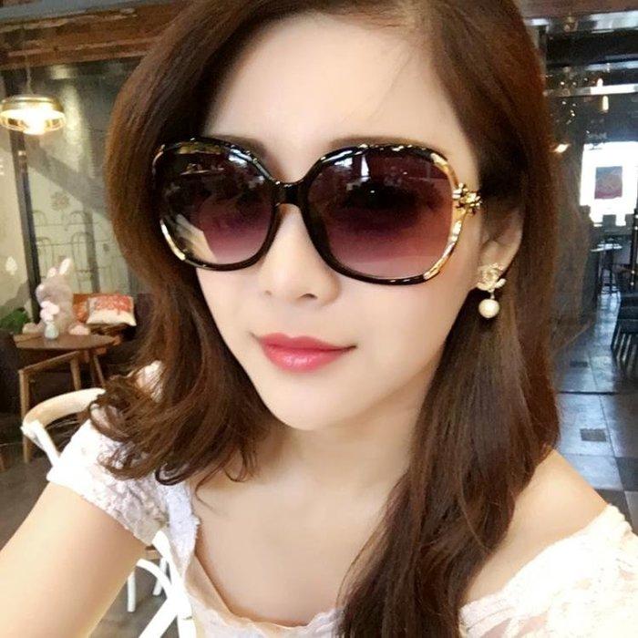 太陽鏡 太陽鏡女潮明星款圓臉長臉優雅個性舒適前衛 墨鏡女方臉韓版  限時免運