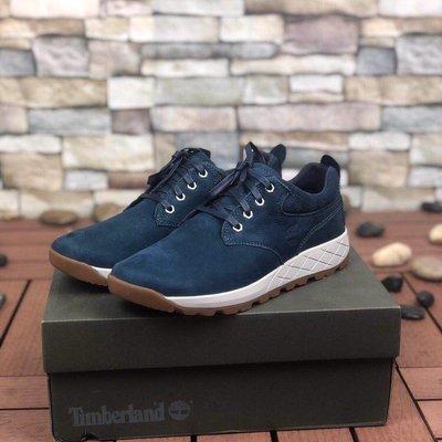 Timberland男士最新款戶外輕便舒適休閒運動鞋 A1YVP 藍色 39-45碼