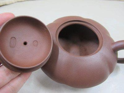 二手舖 NO.2675 精選茗壺 早期手工紫砂壺 土胎好 手工細膩