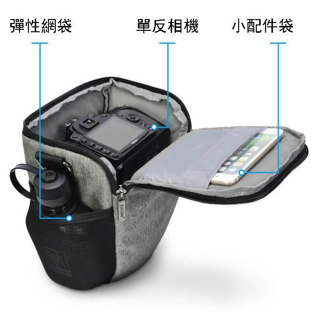 便攜微單反包相機背包 手提斜挎單肩相機包 多功能背包