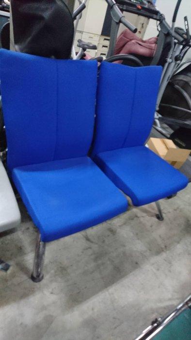 ㊖華威搬家=更新二手倉庫㊖中古雙人椅2人布面椅沙發會客椅候客等候椅單人椅套房 收購回收餐飲設備家具家電