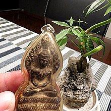【 金王記拍寶網 】F1103  早期銅雕佛牌 銅雕佛 包殼一尊 罕見稀少~