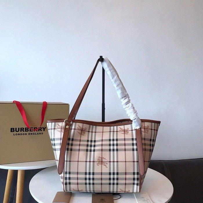 【GoDay+刷卡】Burberry 巴寶莉 2020 新款肩背包 水餃包 咖啡  歐美流行 美國outlet代購
