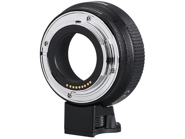 【新鎂】Commlite CM-EF-EOSM 佳能EF/EF-S鏡頭 轉 EOS M機身 轉接環