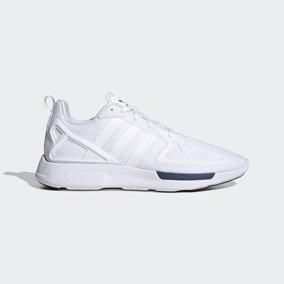 南◇2020 5月 ADIDAS ORIGINALS ZX 2K FLUX 運動鞋 FW0470 白 藍 休閒運動鞋