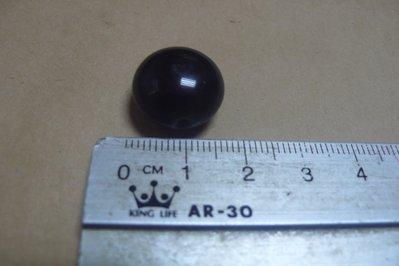 紫色小館89-------清-手工穿孔墨玉珠