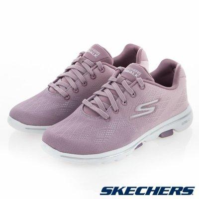 【曼曼鞋坊】SKECHERS 女鞋 女款 健走鞋 休閒鞋 GO WALK 5  紫粉15929MVE