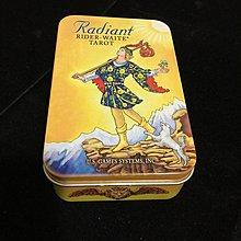 【馨閣塔羅】萊特偉特塔羅 (雲彩) 口袋鐵盒版Radiant Rider-WaiteTarot