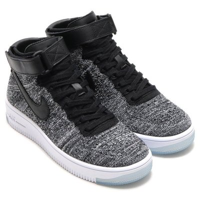 =CodE= NIKE W AIR FORCE 1 ULTRA FLYKNIT 編織籃球鞋(黑白)818018-001女