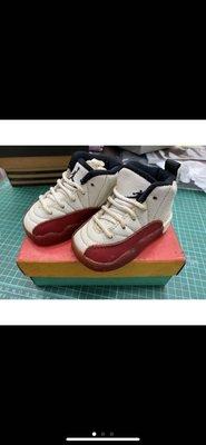 20多年前發行 正版全新 jordan12代 完整包裝鞋盒 baby鞋 非Kobe