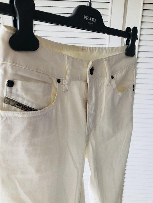 英國帶回 白色牛仔褲