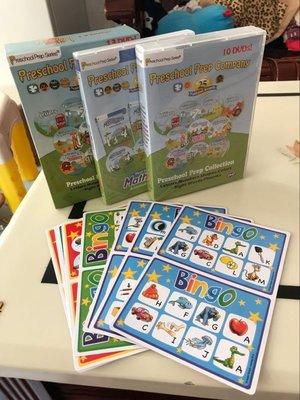【優品音像】 英文原版 學前教育Preschool Prep嬰幼兒英語啟蒙教材高清DVD13碟 精美盒裝