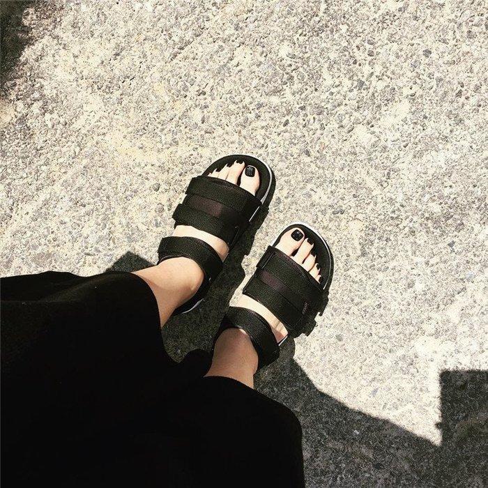 Sugar🍭Adidas Originals Adilette Sandal 2.0 涼鞋 魔鬼沾 黑色 AC8583
