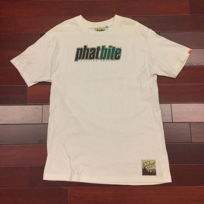 "[RiggaLAB] INTERBREED PHAT BITE ""THE BEATS"" 短袖 白色 TEE"