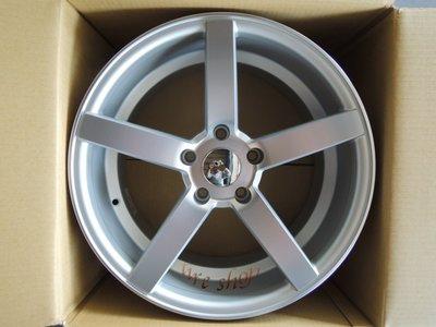 ╭☆輪鋪☆╯全新 類(CV3) 18吋5孔120/5孔112 BMW/賓士/VW/AUDI 可前後配 銀車面鋁圈