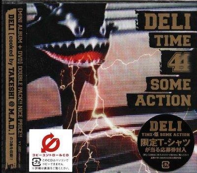 K - DELI - TIME 4 SOME ACTION - 日版 CD+DVD - NEW