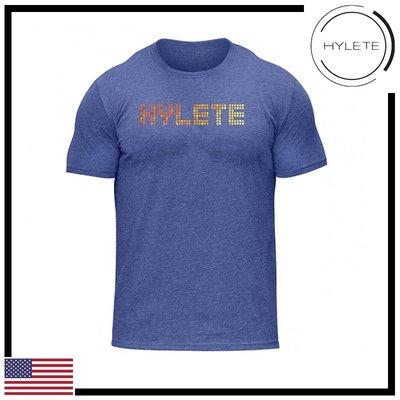 ►瘋狂金剛◄淺藍色  HYLETE pinpoint tri-blend crew tee 柔軟 透氣 短袖T恤