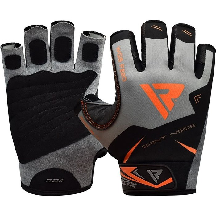 【線上體育】RDX GYM GLOVES SUMBLIMATION F22 ORANGE RDX019