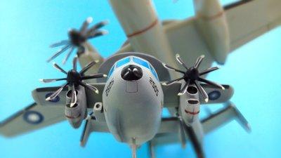缺貨中Q版蛋機模型完成品國軍鷹眼2000型空中預警機1架(請先連繫確認)