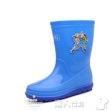 兒童雨靴兒童雨鞋男童女童幼兒寶寶雨靴小童膠鞋小孩中大童學生防水鞋