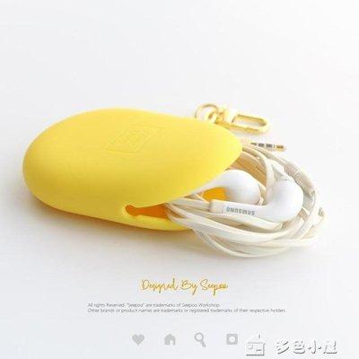 數碼收納包耳機收納包鑰匙數據線整理包硅膠彩色保護套柔軟多用途