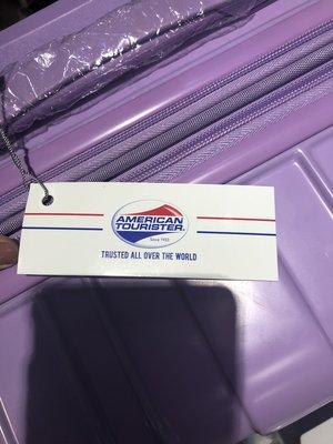 美國旅行者28吋擴充行李箱(紫色)~現貨1個