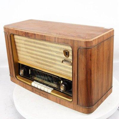 百寶軒 9品德國古董銘機根德Grundig3040電子管收音機膽機音色溫暖 ZG3046