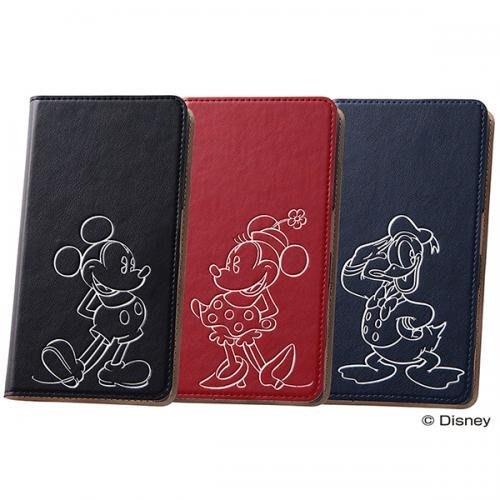 尼德斯Nydus~* 日本迪士尼 米奇 米妮 唐老鴨 Xperia Z5 手機殼 保護殼 可立式 翻頁皮套 票卡夾