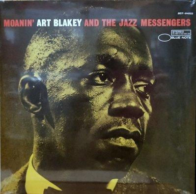 §小宋唱片§ EU版/Art Blakey&Jazz Messengers - Moanin'/全新未拆封爵士黑膠