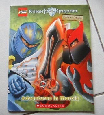【童書】【英繪】Knights' Kingdom - adventures in Morcia (Punch-out play set )