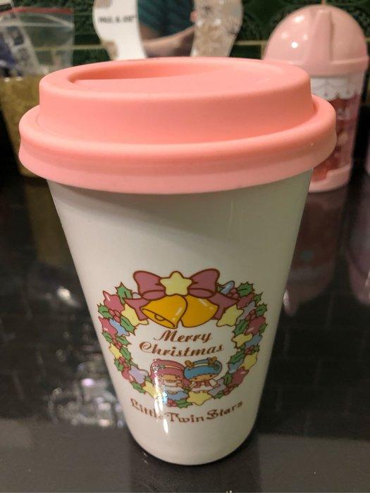 全新 正版 2013出版 雙子星 kikilala Kiki lala 陶瓷 隨行杯 隨身杯 微風台北車站 現貨 兩個
