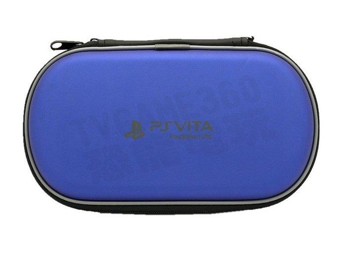 PSV PSVITA 1000 1007 2000 2007 主機包 硬殼包 收納包 防護包 藍色【台中恐龍電玩】