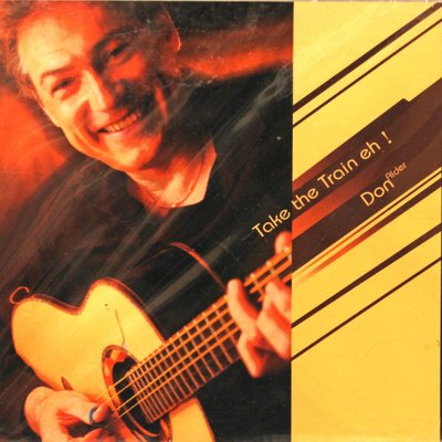 北投巴洛吉他學苑(晶濎音樂) Take the  Train eh  Don Alder 木吉他演奏CD