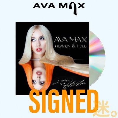 迷俱樂部 現貨!Heaven & Hell 簽名專輯 [CD] Ava Max 艾娃麥絲 親筆簽名 SIGNED 西洋