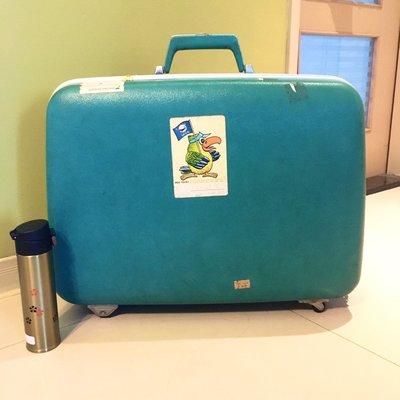 老物件 硬式旅行箱