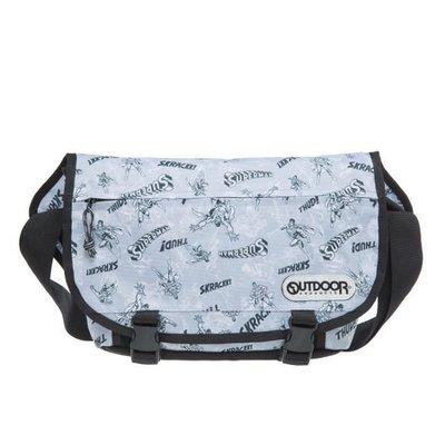 GIFT41 4165本通 三重店 OUTDOOR x 超人聯名款 信差包/側背包 灰色 OD161149GY