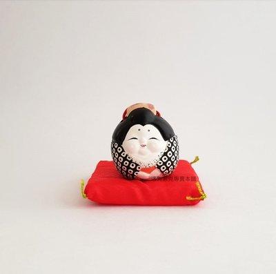 [洛克索克專賣本舖] 可愛福娘豆鈴 和紙多福娘 土鈴 開運小物 招福  非招財貓日本製 全新現貨 桌面小擺飾