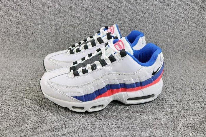 Nike Air Max 95 TT 藍白 經典 氣墊 休閒運動慢跑鞋 男女鞋 749766-106