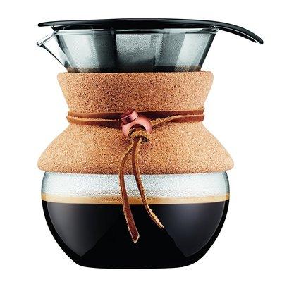 【EASY_BUTY】{預購}BODUM POUR OVER 手沖咖啡壺 17oz 0.5L 軟木代購 限時特惠$999