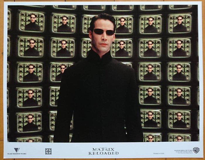 駭客任務:重裝上陣 (The Matrix)- 基努李維 Keanu Reeves- 美國原版電影劇照 (2003年)