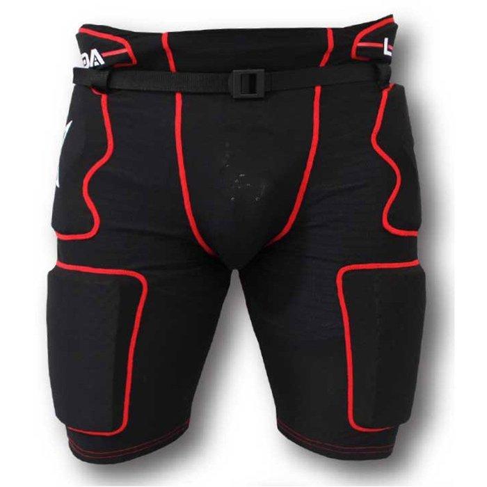 Labeda Pama 7.2 JR青少年-S, M號 直排籠褲 防摔褲 內穿褲-傳統有腰帶設計 足夠直排防護 最後6件