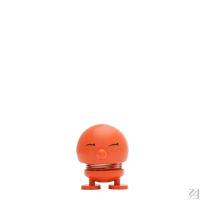 丹麥Hoptimist 微笑彈簧小人Baby Bimble小兵兵(橘色)