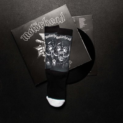 [ Satisfaction ] 美國品牌Stance襪子 英國經典樂團Motorhead