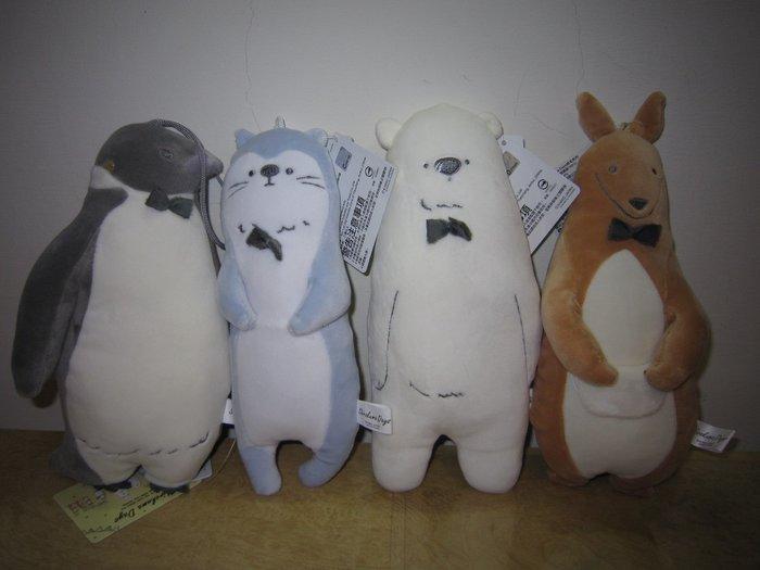 ///可愛娃娃///~6吋正版Shirokuma Days白熊日常系列造型絨毛娃娃一組~氨綸布~超柔軟--約25公分